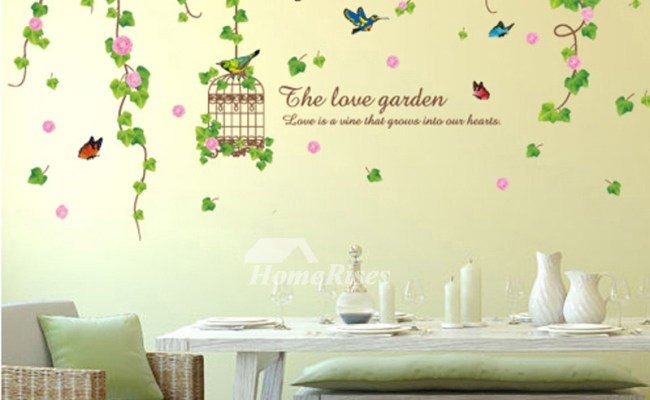 Floral Wall Stickers Self Adhesive Home Decor Bedroom Online