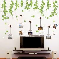Bedroom Wall Art Stickers Tree/Flower/Plant Self Adhesive ...
