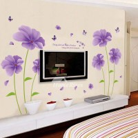 Bedroom Wall Art Stickers Flower/Letter/Butterfly Self