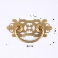 Kitchen Cabinet Hardware Pulls 3.5/4/5 Inch Brass Cheap Drawer