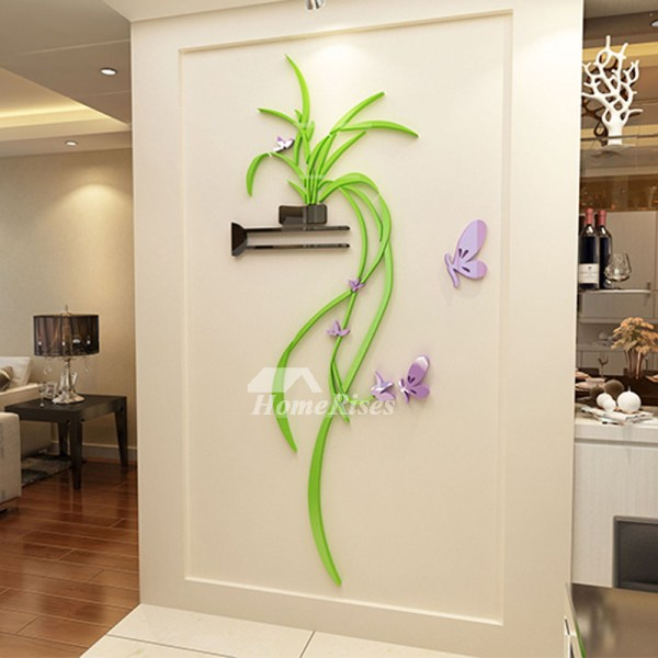 Kitchen Wall Decor Bedroom Acrylic Modern Living Room 3d