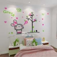 Animal Wall Decals Acrylic Home Decor Childrens Home Decor ...
