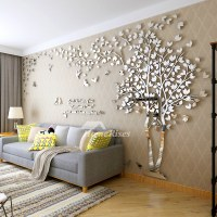 Wall Decals For Living Room Tree Acrylic Home Personalised ...