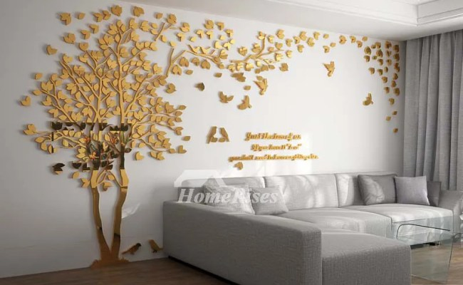 Wall Decals For Living Room Tree Acrylic Home Personalised