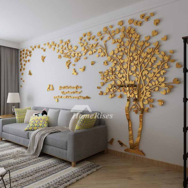 Wall Decals Living Room Tree Acrylic Home Personalised