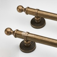 Antique Brass Door Handles