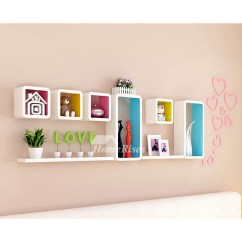 Shelving For Living Room Walls Storage Ideas Wall Shelves Wooden Decorative Mounted Cube Pictures Show