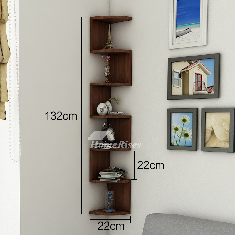how to decorate living room wall shelves gallery furniture sets corner shelf wooden decorative creative book design