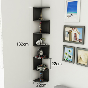 wall mounted kitchen shelves thai noodles decorative small shelf homerises com corner wooden black red blue