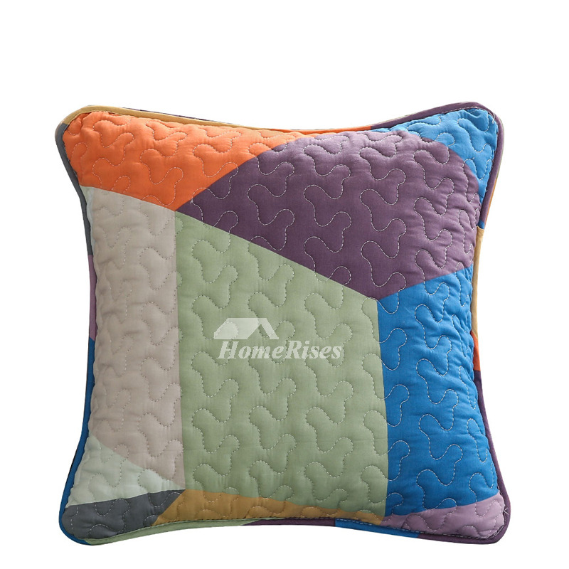 Modern Decorative Pillows For Couch Cotton Large Colored