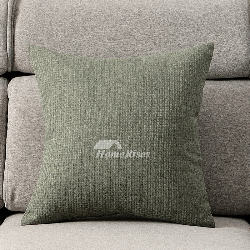 decorative pillows on sale blue gray cream green polyester pillow core not included