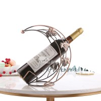 Unique Wine Bottle Holders Decorative Metal Small Single ...