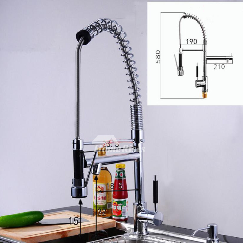 Coiled Kitchen Faucet