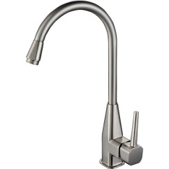 Kitchen Faucets Stainless Steel Designing A Brushed Nickel Faucet Gooseneck Shaped