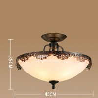 Ceiling Light Fixture Semi/Flush Mount Bedroom Hanging