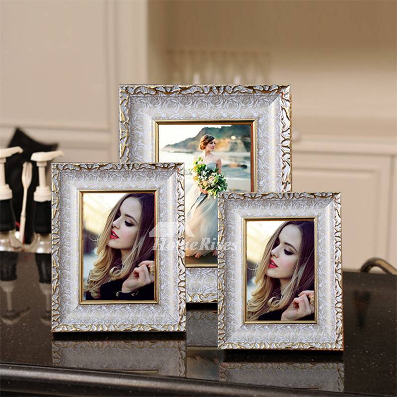 kitchen table placemats the game modern gold/white 4x6 plastic cheap picture frames unique ...