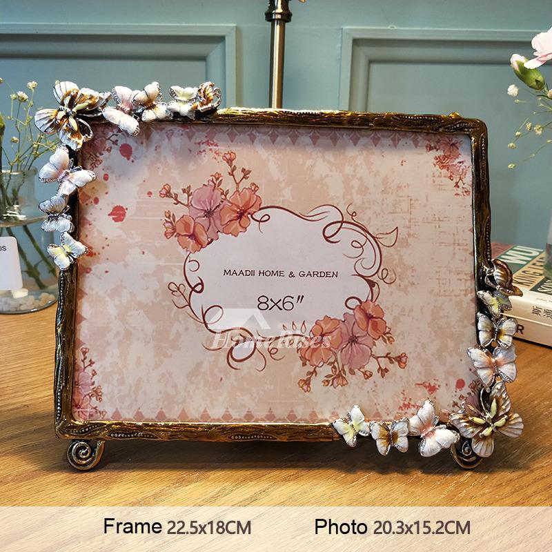 Modern 4X68X610X8 Metal Glass Decorative Picture Frames
