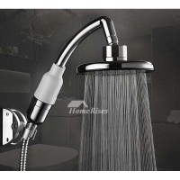 Designer Shower Head Hand Faucet Hose Adapter Silver ...