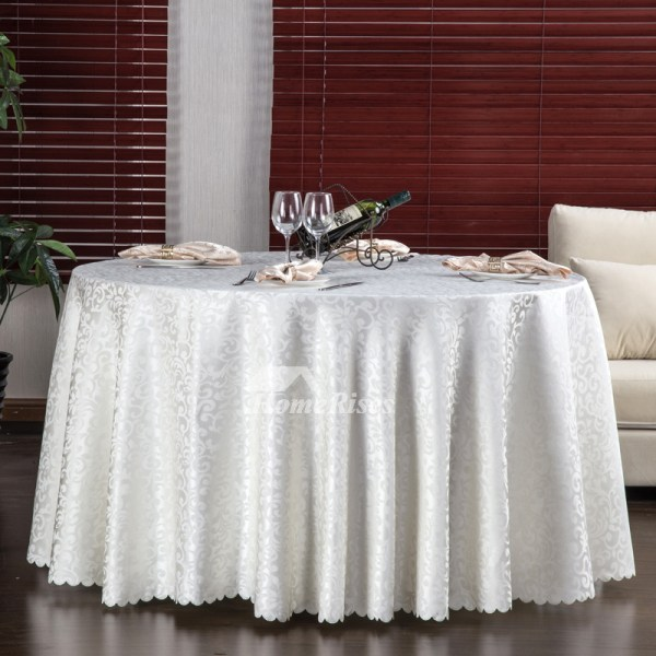 Cloth Tablecloths Red Purple White 70 Polyester