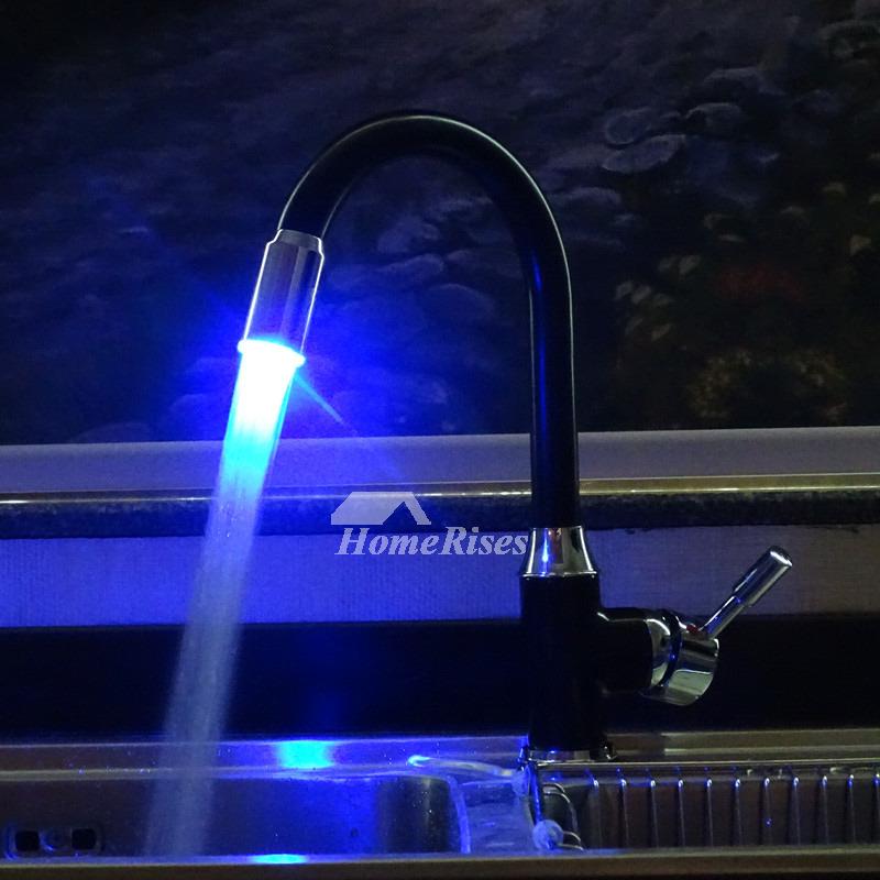modern black oil rubbed bronze kitchen faucets light single handle