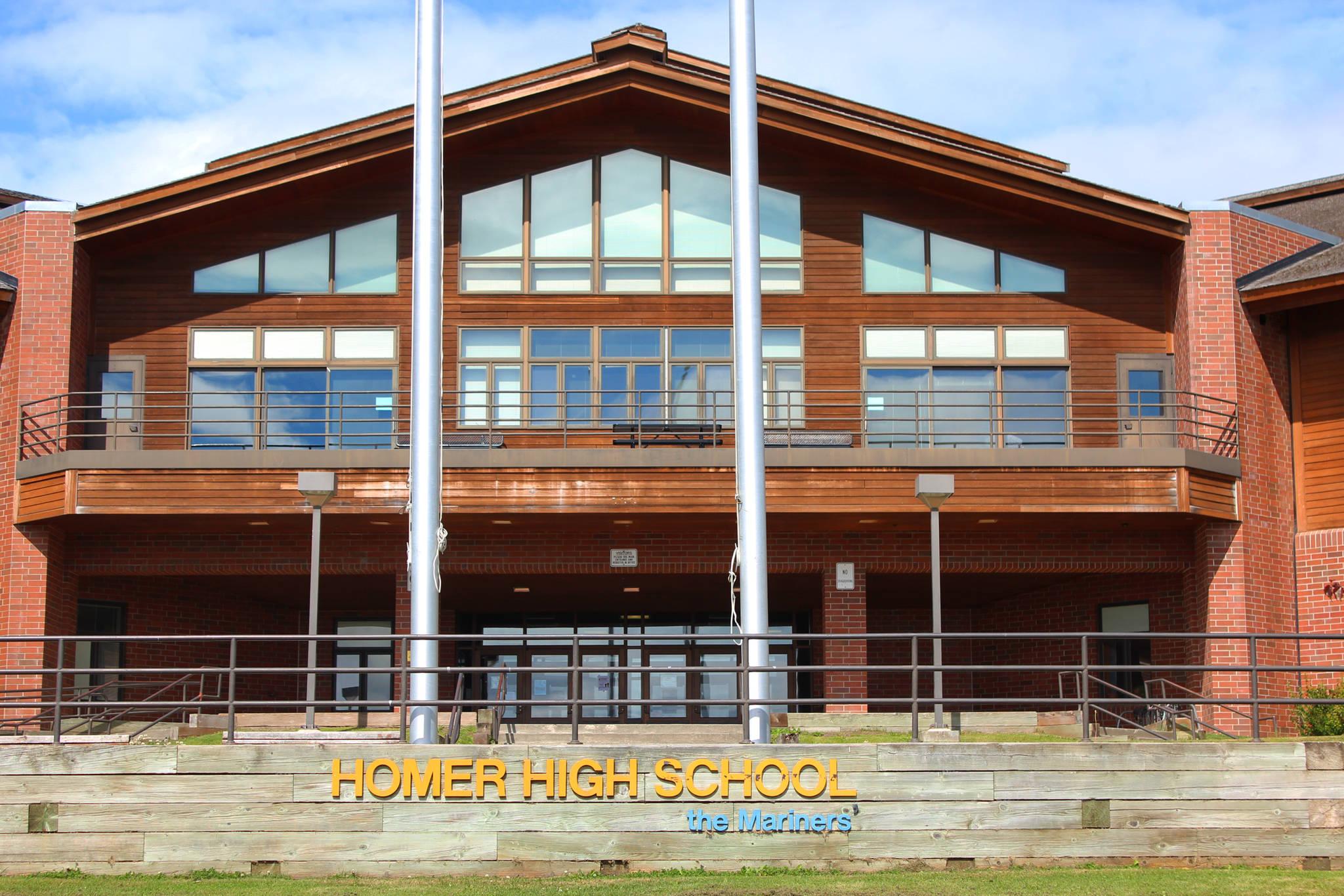 homer area school announcements