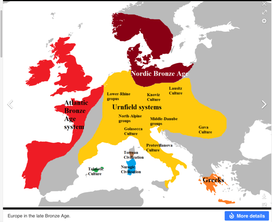 3 Europe in Late Bronze Age