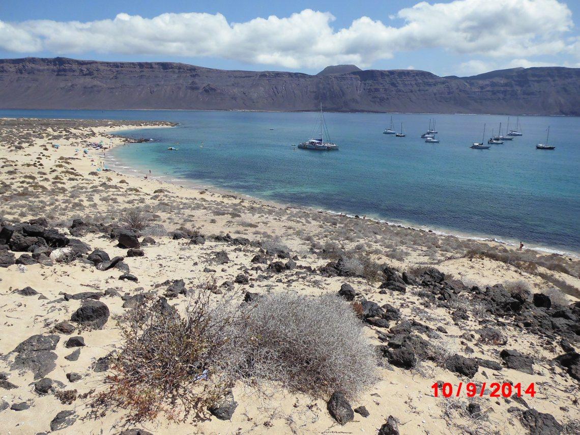 Fig 5 view from La Graciosa