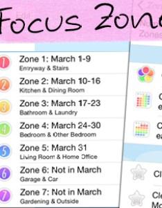 Focus zones also homeroutines app rh