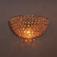 Crystal Round Wall Sconce Lamp, Decorative Door Light ...