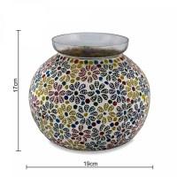 Beautiful Mosaic Work Persian Mosaic Leafy Glass Table ...