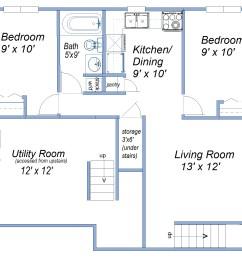basement suite [ 1600 x 1375 Pixel ]