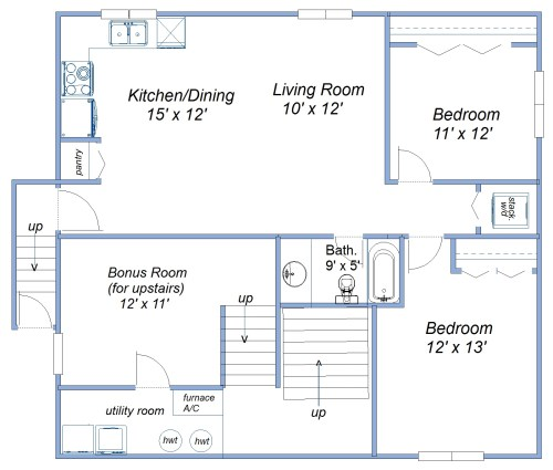 small resolution of basement suite