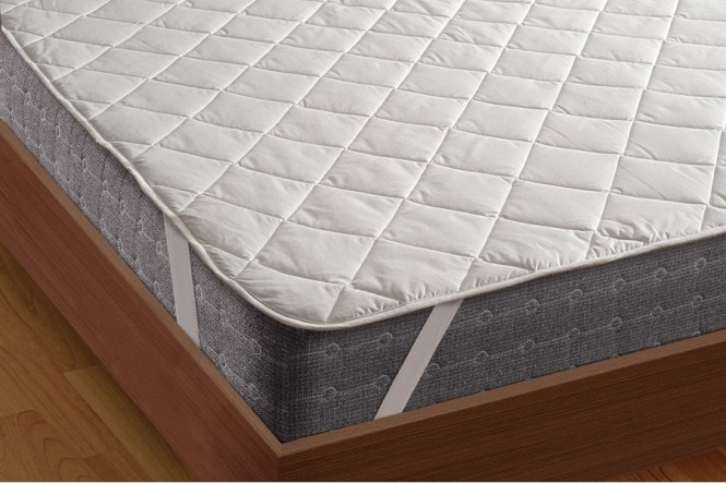 Quilted Mattress Protector With Elastic Band