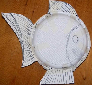 Paper Mache Ideas Fish Ornaments