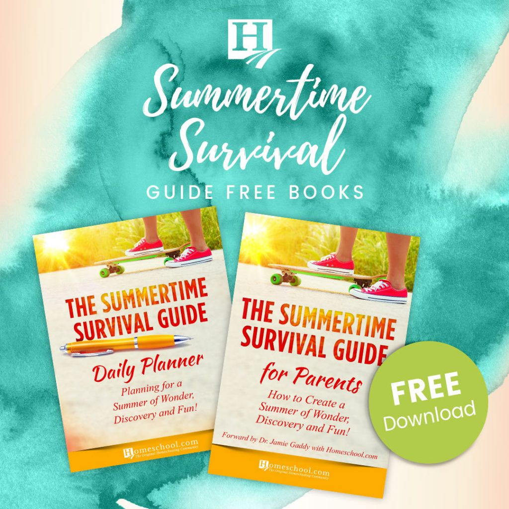 Free Summertime Survival Guide And Planner