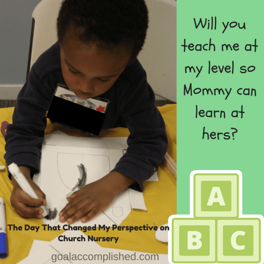child coloring in the nursery