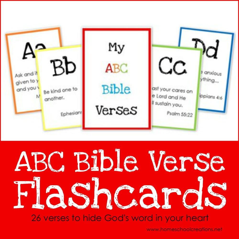medium resolution of ABC Bible Verse Flashcard Printables ~ Teaching God's Word