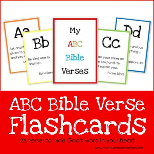 small resolution of ABC Bible Verse Flashcard Printables ~ Teaching God's Word