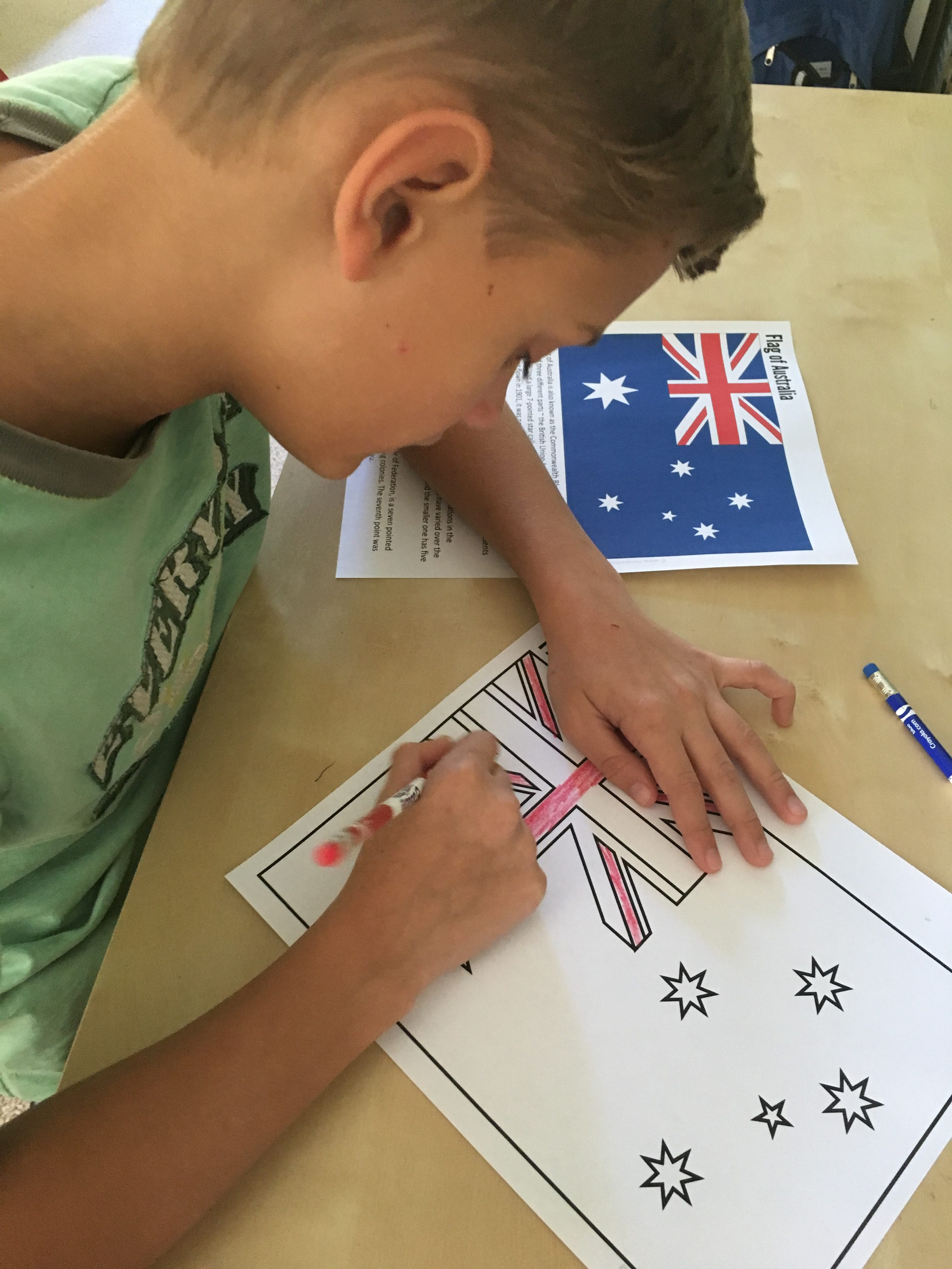 Australia Geography Printables