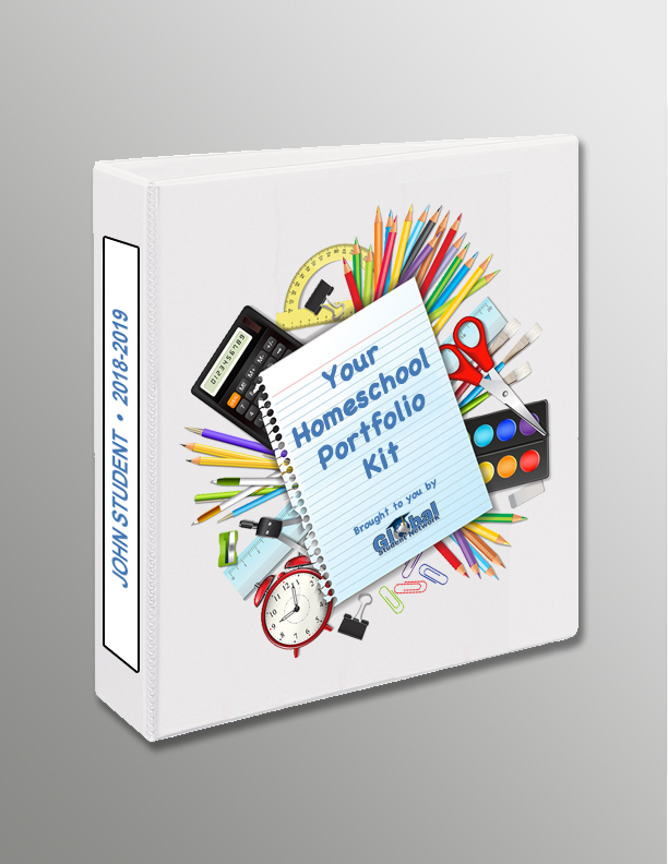 Free Homeschool Portfolio Kit from Global Student Network  Home School Facts