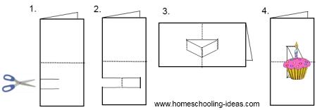 Make Pop Up Books for Homeschooling