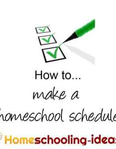 The perfect homeschooling schedule also make  home school great schedules rh ideas