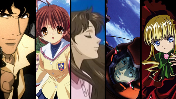 My 5 Favorite Anime With Black Borders