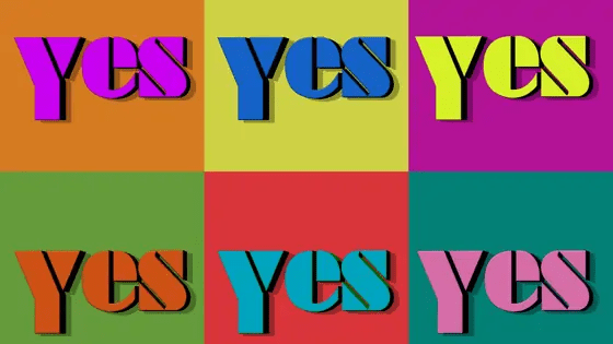 things to do for bored kids - play the saying yes challenge
