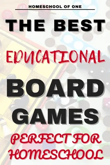 the best educational board games for families to play, perfect for homeschoolers