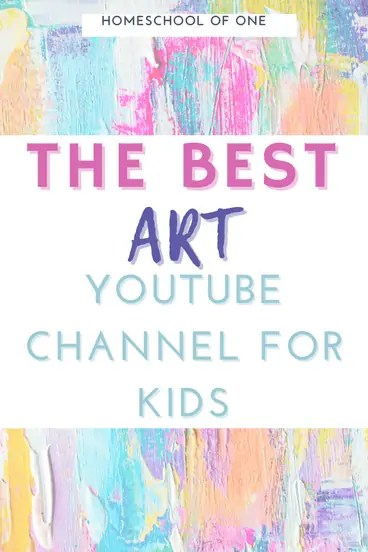 The best art youtube channels for kids