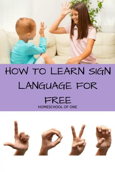 How to learn a sign language for free online. Over 10 resources for learning ASL and BSL