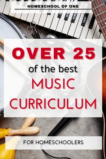 Over 25 of the best music curriculums for homeschool
