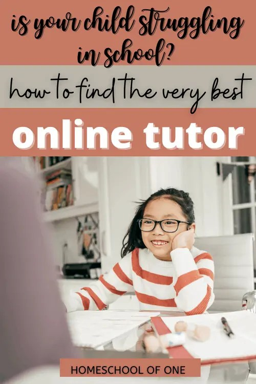Is your child struggling in school? How to find the very best online tutor to help
