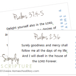 Promises of Psalms and Proverbs